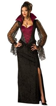 Halloween Costumes Womens Midnight Vampiress Costume