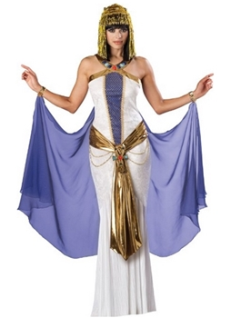 Jewel Of The Nile Full Length Panne Gown