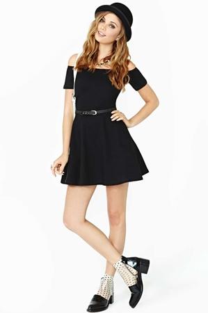 Motel Catalina Little Black Dress