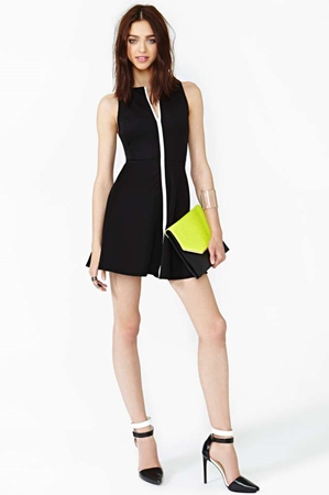 Nasty Gal Limit Line Dress