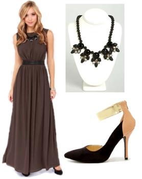 Sable Maxi Dress