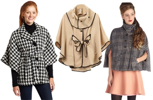 affordable cape coats for women