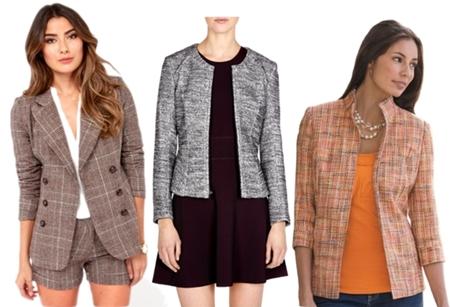 tweed jacket for women