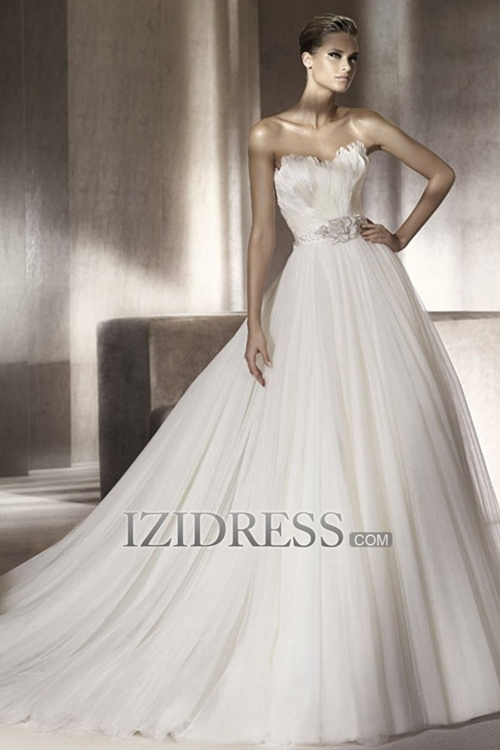 My Dream Wedding Gowns: Whimsical and Princess-y A-Line Wedding Dresses