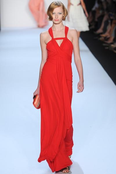 Badgley Mischka Red Gown