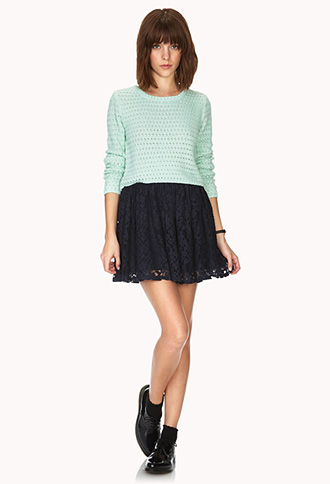 Femme Cropped Sweater