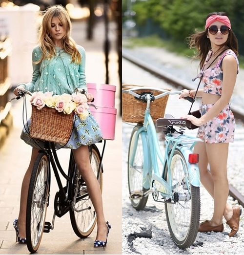 fashionable cruiser bike