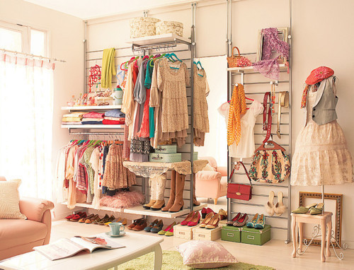 how to make over your closet