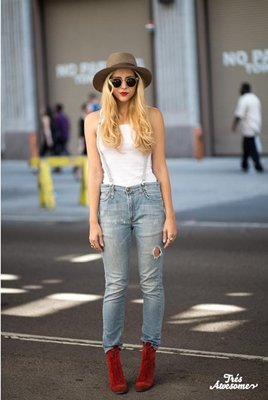jeans with suspender for women
