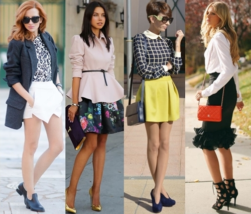 choose skirts that flatter your figure