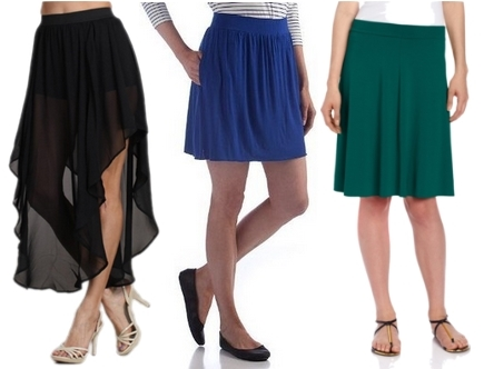 skirts for women with large bottom