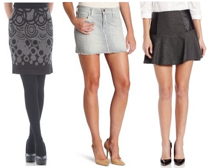 skirts with short torso women