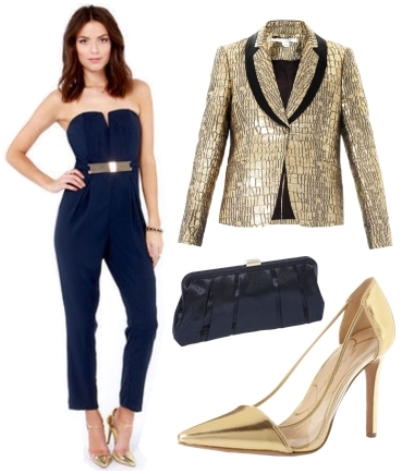 Holiday Party Outfits Elegant Jumpsuit Creative Fashion