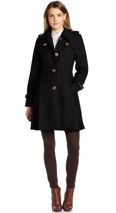 Miss Sixty Women's Flare Dress Coat