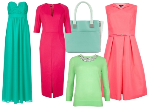 Ted Baker Spring 2014 Bright Solids Trend