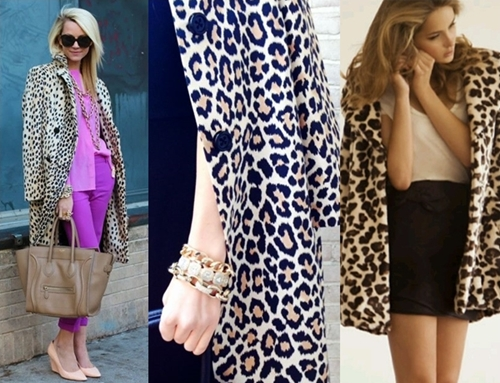 how to wear leopard print coat as cape