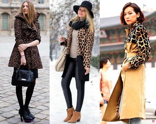 how to wear modern leopard print coat