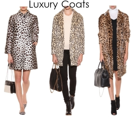 luxury leopard print coats