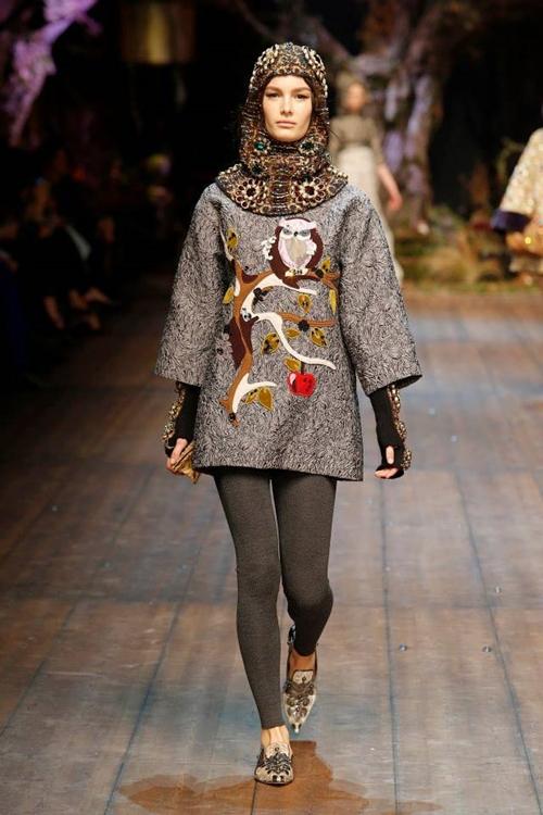 Dolce and Gabbana fall 2014 Owl