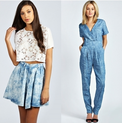 Maritime trend Acid Wash Chambray