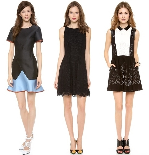 Most Coveted Little Dresses for 2014 darks