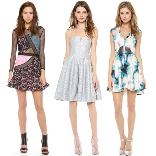 Most Coveted Little Dresses for 2014 fit and flare