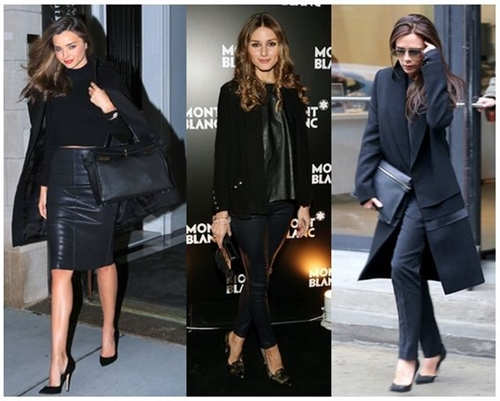 Get Celebrity Look: Back to Black