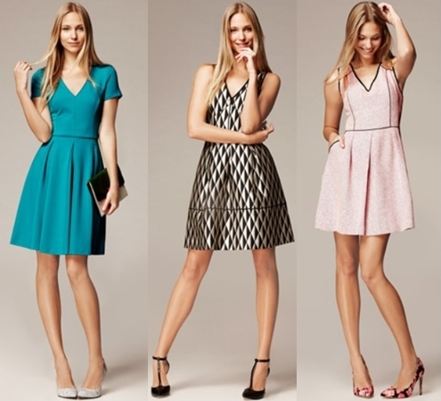 forever flattering fit and flare dresses