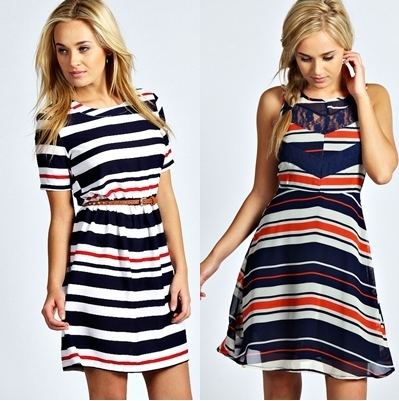 stripe dresses