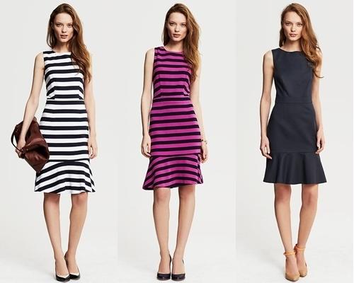 wear to work flounce dress