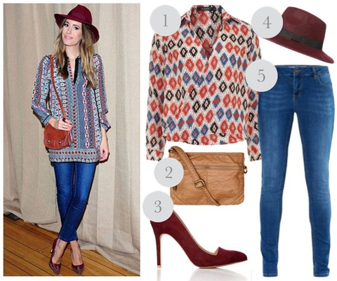print, daytime, casual