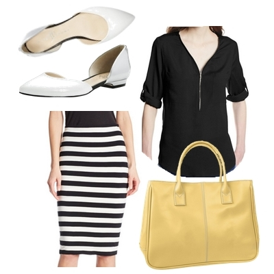Ivanka Trump d'Orsay Flat Work Outfit