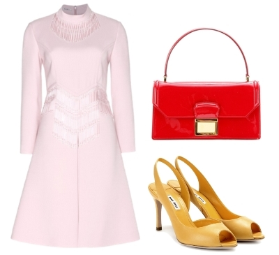 Miu Miu Wool Dress outfit