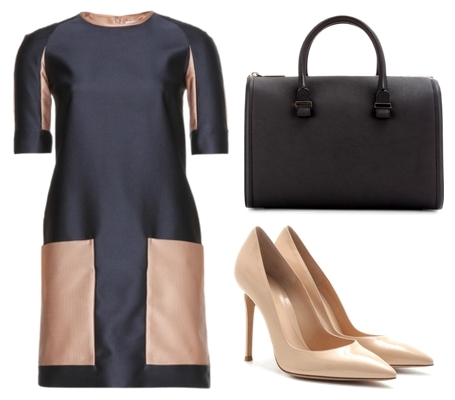 Victoria Beckham Jacquard dress