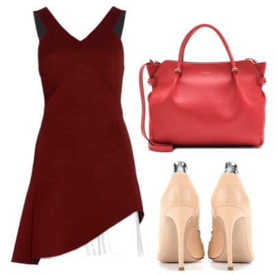 Victoria Beckham Wool Blend Dress