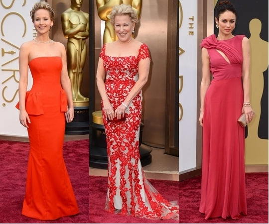 Best Dress Trends from Oscars 2014