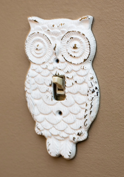Owl Lights Out Switch Plate Cover