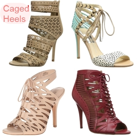 Summer Shoe Trend Caged Heels