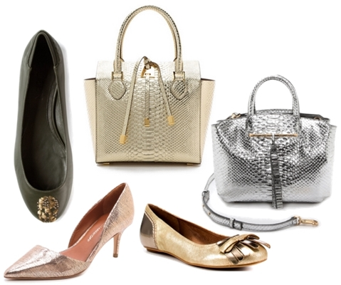wake your work outfit with sequin accessory