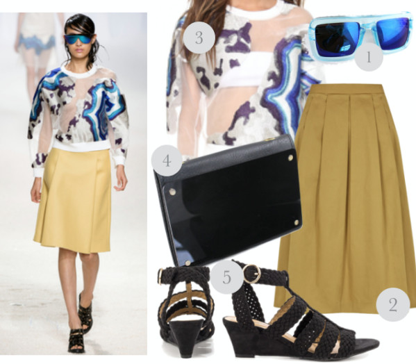 Transparent fabrics and runway inspired summer trend 1