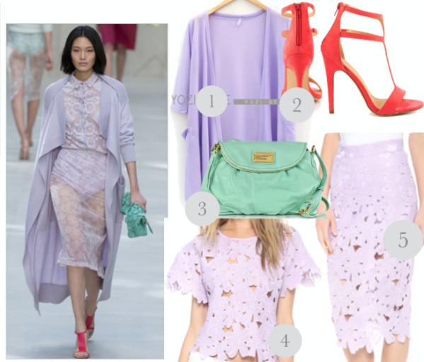 Transparent fabrics and runway inspired summer trend 3