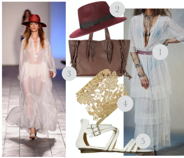 Transparent fabrics and runway inspired summer trend 4
