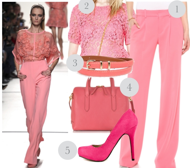 go for pink professional work outfits