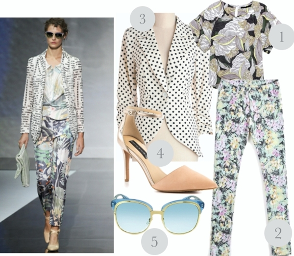 mix and match summer work outfit