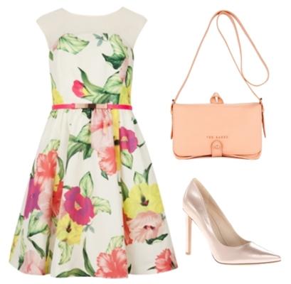 IBERIS - Floral printed dress