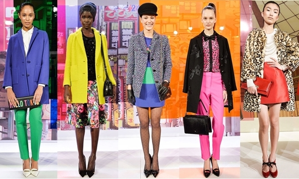 Kate Spade Colored Looks for Fall