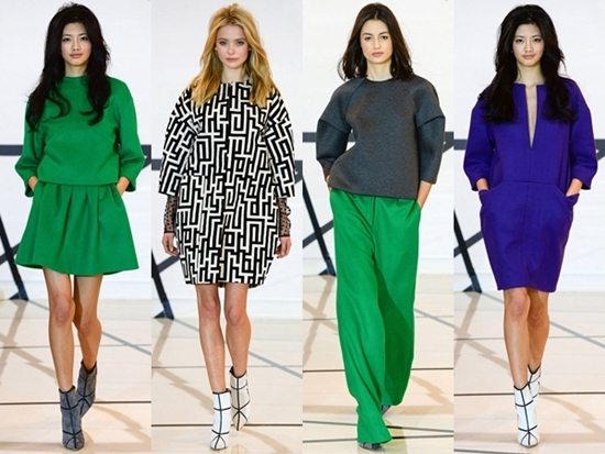 boxy shapes for fall