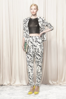 Alice and Olivia head to toe monochrome