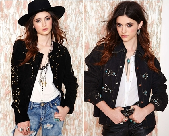 western style beaded jackets