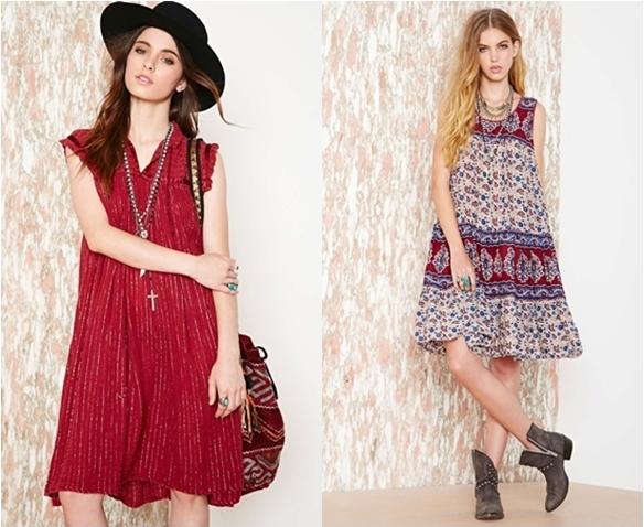 western style loose dress